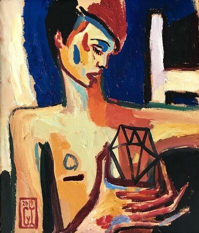 Gonzalo Ilabaca, 'El diamante y la silla', 2019