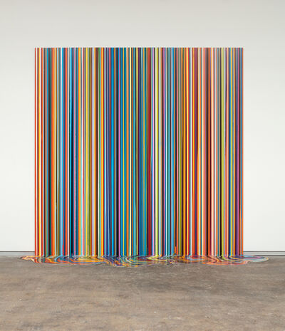 Ian Davenport, 'La Mer (After Bonnard)', 2018