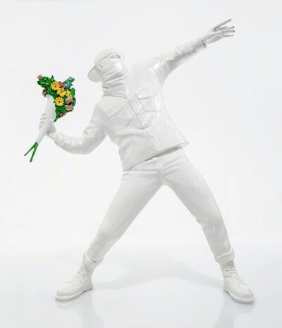 Banksy, 'Flower Bomber (White)', 2016