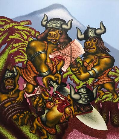 Peter Saul, 'Prehistoric Women', 1992