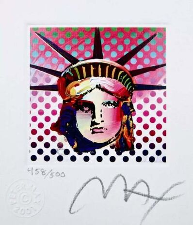 Peter Max, 'Liberty Head II', 2001
