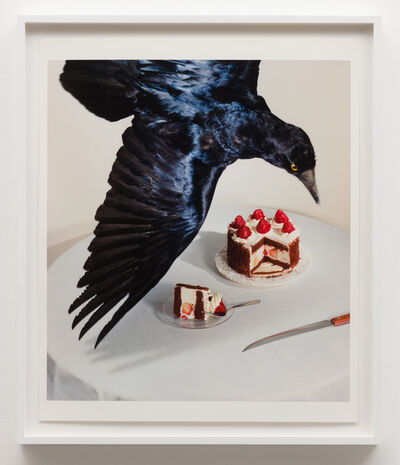 Jo Ann Callis, 'Raven and Cake', 1980