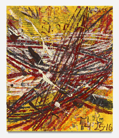 Mark Grotjahn, 'Untitled (New Capri XIX 47.19)', 2016