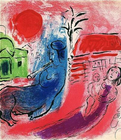 Marc Chagall, 'Maternite au Centaure (M. 195)', 1957