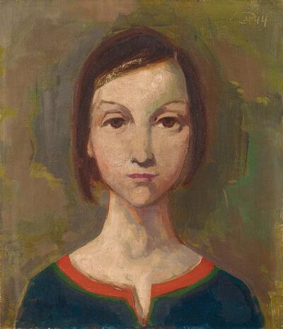 Karl Hofer, 'Mädchenbildnis', 1944