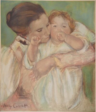 Mary Cassatt, 'Maternal Tenderness: Mother and Child', XXth century