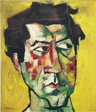 Oswaldo Guayasamín, 'Eddy Novarro', 1963