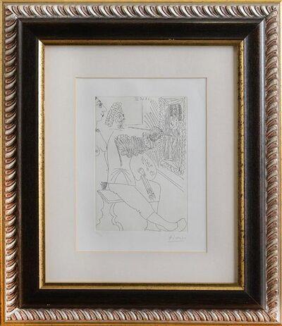Pablo Picasso, 'Peintre et curieux', 1968