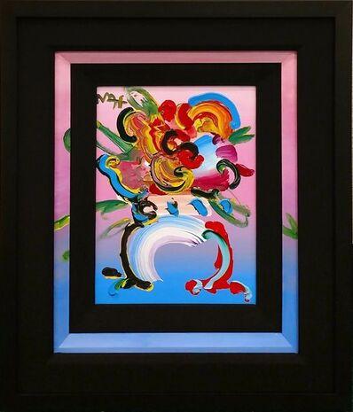 Peter Max, 'FLOWER VASE', 2004