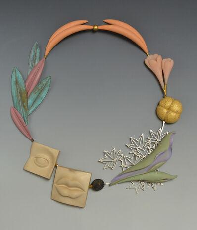 "Bruce Metcalf, '""Rinpa Maple"" necklace', 2013"