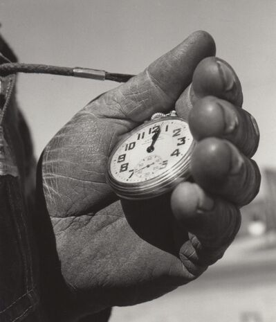 Richard Steinheimer, 'T&S Ry Track Foreman's Watch, Escalon, CA', March 1962