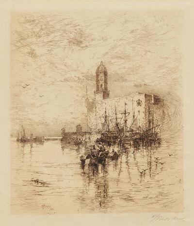 Thomas Moran, 'The Castle of St. John D'ulloa, Vera Cruz, Mexico ', 1884