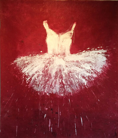 Ewa Bathelier, 'White and Red Tutu', 2014