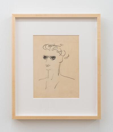 Paula Brunner Abelow, 'Figure Wearing Sunglasses', ca. 1940