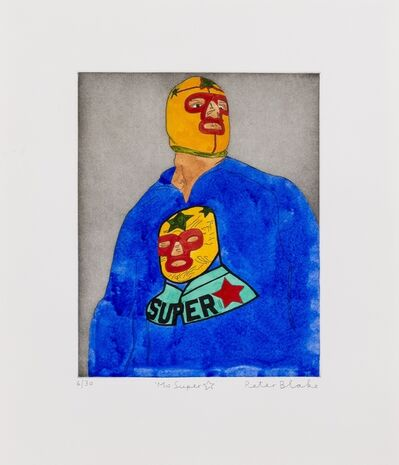 Peter Blake, 'Ms Super', 2010