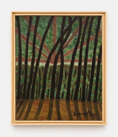 Amadeo Luciano Lorenzato, 'Sol atrás do Bosque', 1982