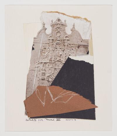 Miguel Zapata, 'Estudio para Mural XIII', 2013