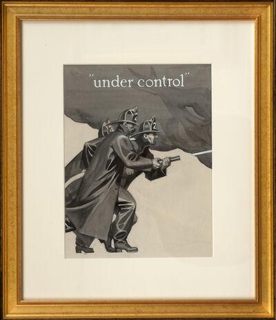 Edward Hopper, 'Under Control', ca. 1907