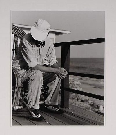 Greg Gorman, 'David Hockney, Malibu', 1989
