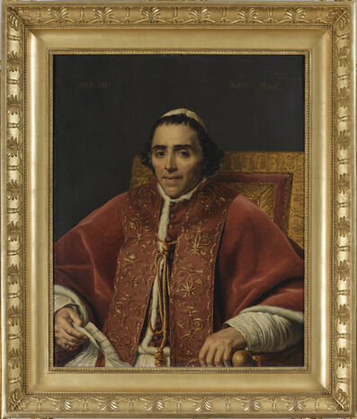 Jacques-Louis David, 'Portrait du Pope Pius VII (Portrait of Pope Pie VII)', 1805