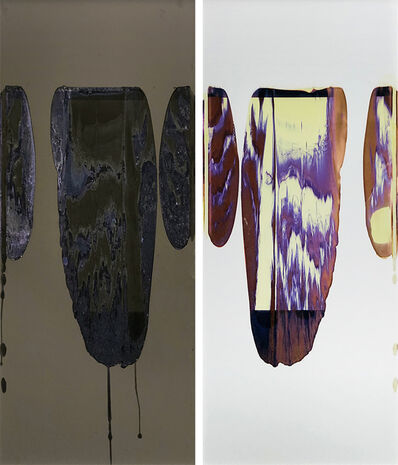 Ellen Carey, 'Negative Pull with Mixed and Offset Pods', 2011