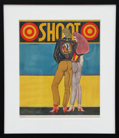 Richard Lindner, 'Shoot', 1969