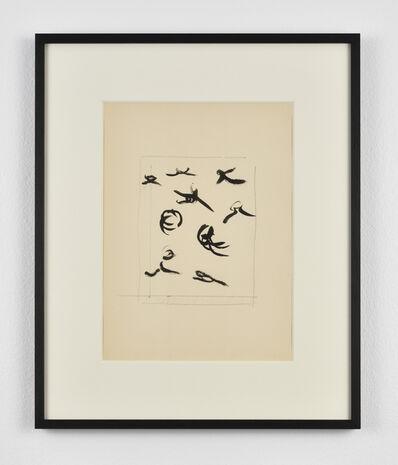 """Henri Michaux, 'Sans titre """"Mouvements"""" (CMP 1550/48)', 1950 -1951"""