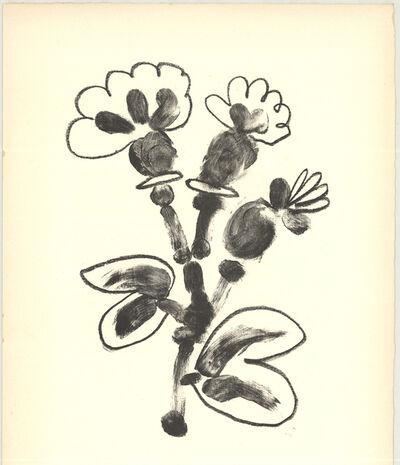 Pablo Picasso, 'De Memoire D'Homme VII', 1950