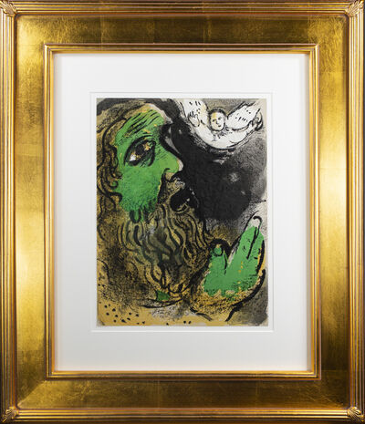 Marc Chagall, 'Job en Prière (Job Praying), M 253/276', 1960