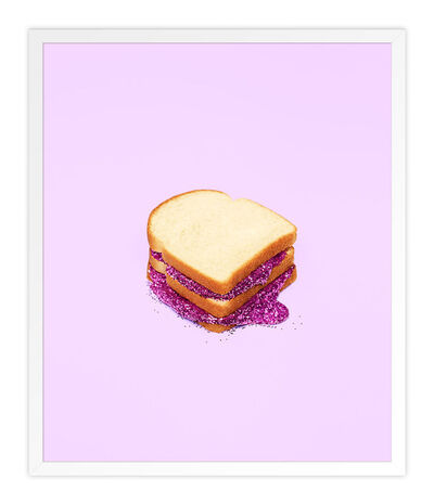 Kimberly Genevieve, 'Glitter Sandwich Purple', 2016