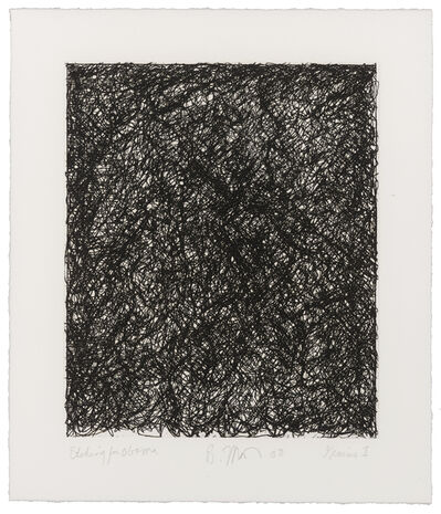Brice Marden, 'Etching for Obama', 2008