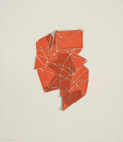 Anna Hepler, 'Conglomerate (orange)', 2010