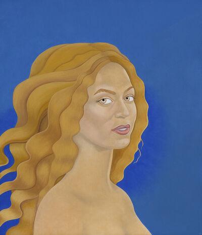 Elizabeth Fox, 'Beyonce as Venus in Giotto Blue'