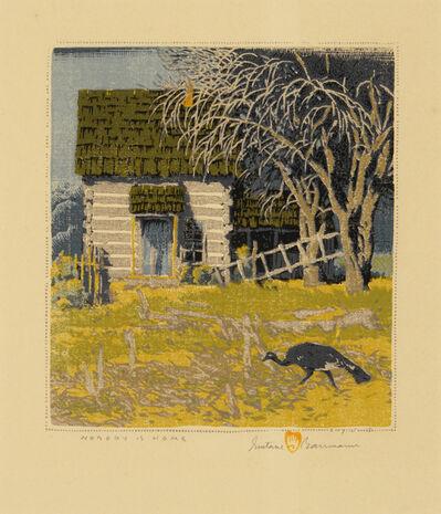 Gustave Baumann, 'Nobody is Home', 1945