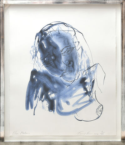 Tracey Emin, 'Blue Madonna.', 2020