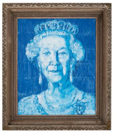 Hunt Slonem, 'Her Majesty', 2019