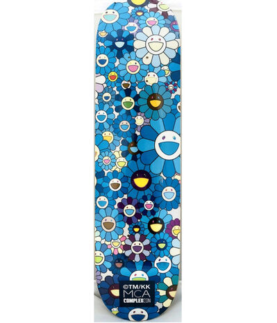 Takashi Murakami, 'Takashi Murakami Flowers Skateboard Deck', 2017