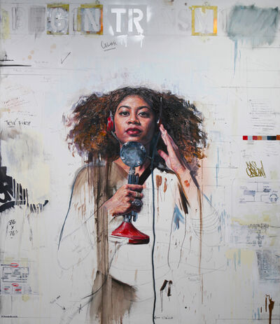Tim Okamura, 'Begin Transmission', 2017