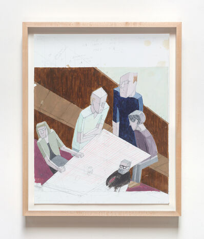 Mernet Larsen, 'Reunion (Study)', 2014