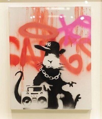 Banksy, 'Gangsta Rat', 2006