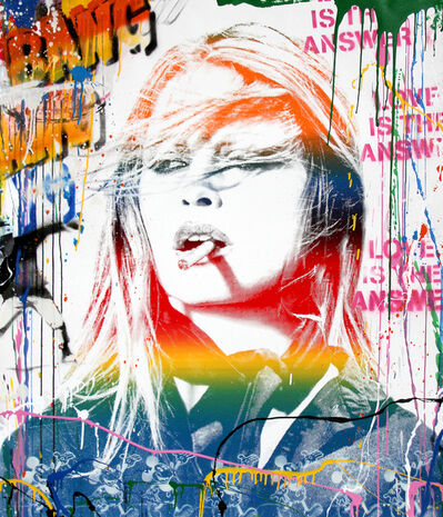Mr. Brainwash, 'Brigitte Bardot ', 2018