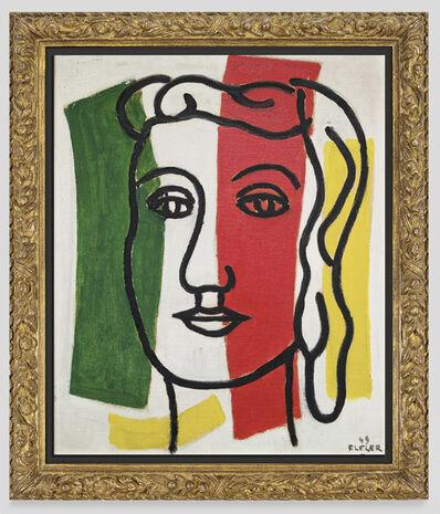 Fernand Léger, 'Portrait de femme (Marguerite Lesbats) ', 1949