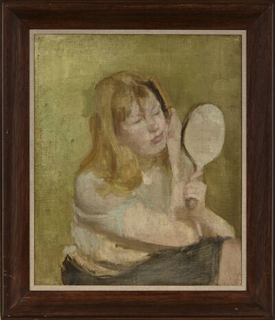 Victor Pasmore, 'Girl with a Hand Mirror', 1938