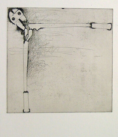 Jim Dine, 'Bolt Cutters (first state)', 1972