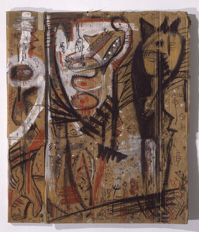 Gunter Damisch, 'Schildkraft', 1984