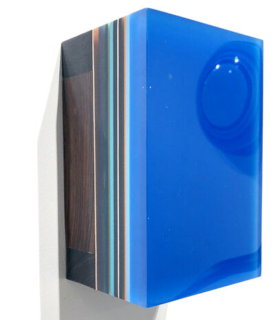 Harald Schmitz-Schmelzer, 'Desert Iron Wood, Royal Blue', 2018