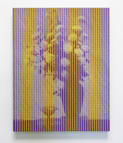 Chris Cran, 'Purple/ Yellow Still Life', 2014
