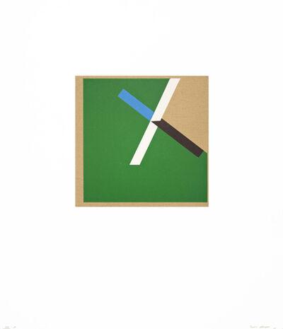 Tony Delap, 'Too Much Green I', 2012