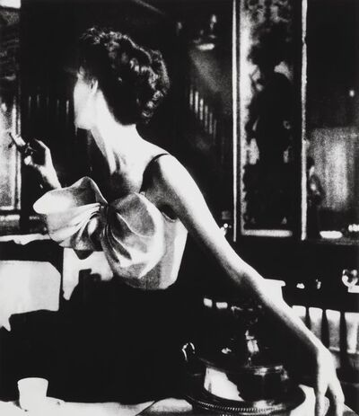 Lillian Bassman, 'Across the Restaurant at Le Grand Vefour, Barbara Mullen, Harper's Bazaar, Paris', 1949