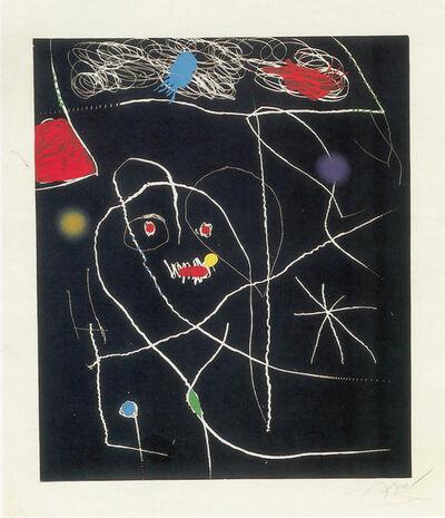 Joan Miró, 'El pi de Formentor V', 1976
